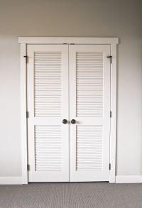 Builder's Millwork & Window provides closet doors; double