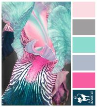 Turquoise And Pink Color Palette | www.pixshark.com ...
