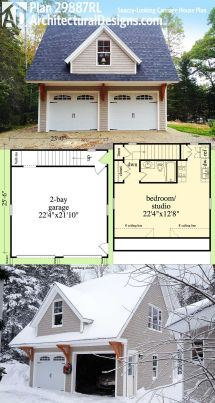 Carriage House Plans with Garage