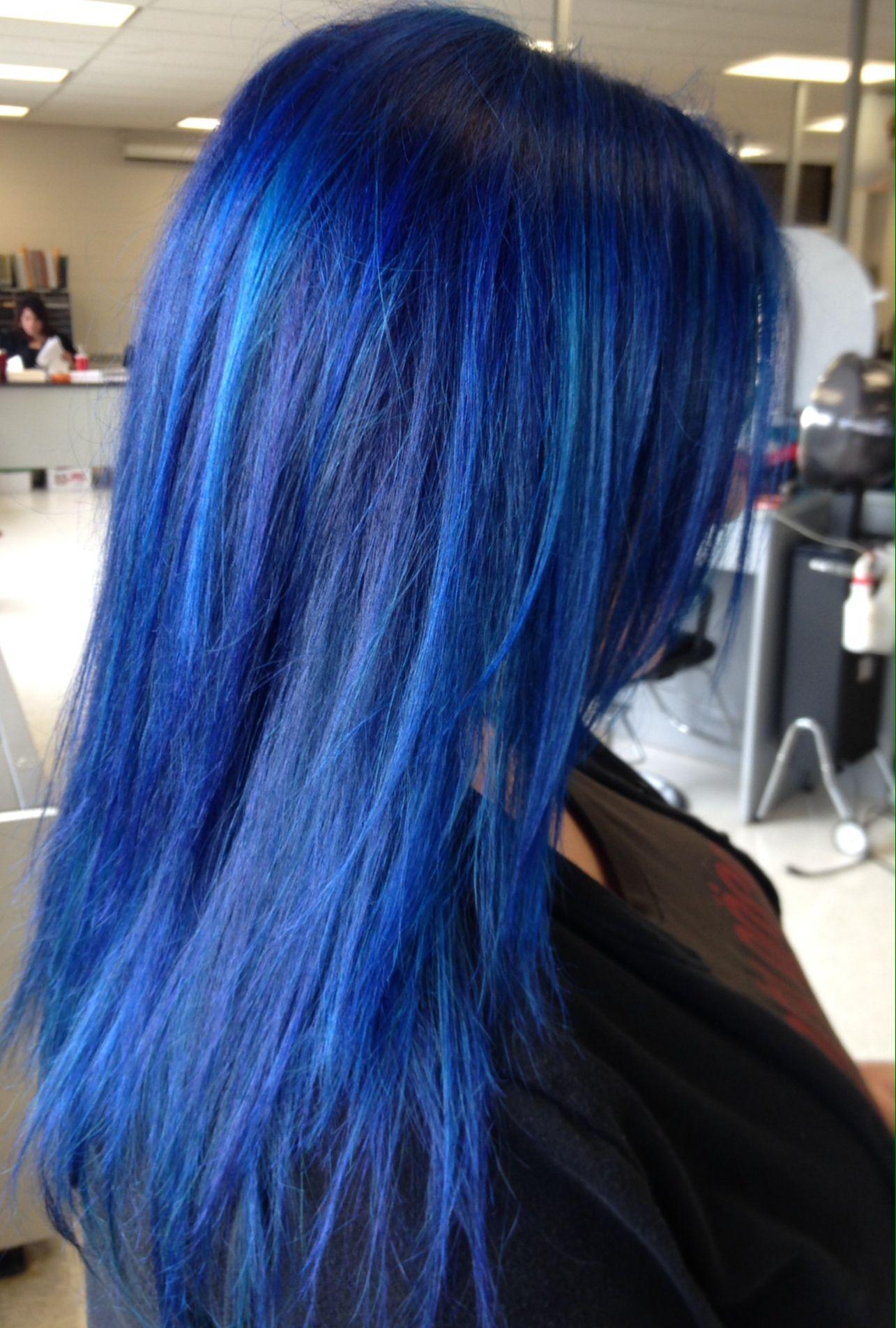 Blue Hair Formula 3 Oz Pravana Vivid Blue To 5 Oz Pravana Vivid Green My Hair Was Very Yellow