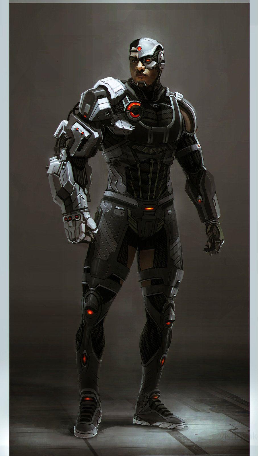 Cyborg Superman Vs Batman