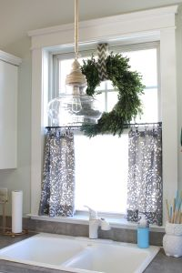 No Sew Cafe Curtains | DIY & Crafts | Pinterest | Cafe ...