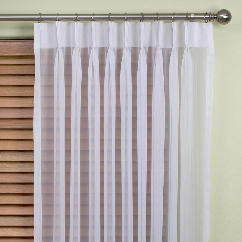 Zara Sheer Pinch Pleat Curtains Window Furnishings Pinterest