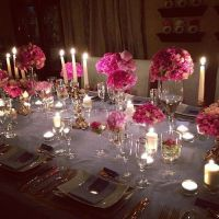 Elegant dinner party table setting #TheEnVISIONFirm ...