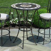 Small Elegant Peerless Table And Stools Bar Height