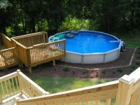 pictures of 18 above ground pools with decks ...