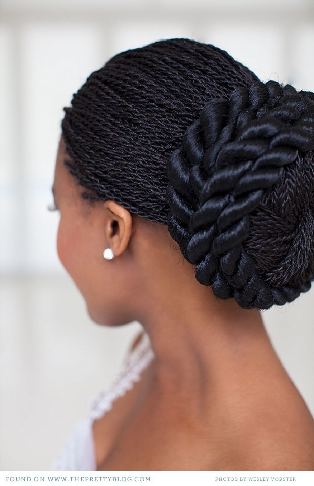 Natural Black Wedding Hairstyles African Wedding Hairstyles