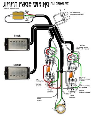 Jimmy Page Wiring Diagram  Somurich