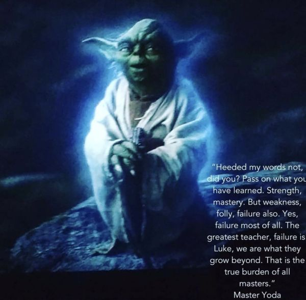 20 Faliure Is Yoda Wisdom Teacher Pictures And Ideas On Meta Networks