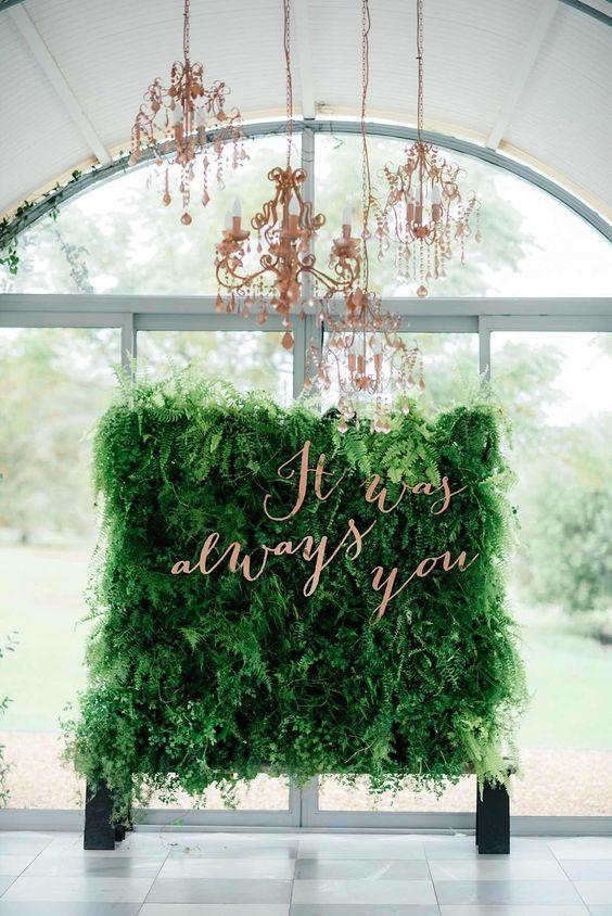 Event decor also tendencia en bodas backdrops green weddings and wedding rh pinterest