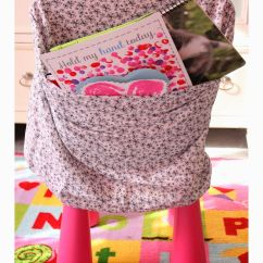 No Sew Chair Pockets Design Glass Easy Made From Pillow Cases Love