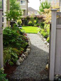 Side Yard Landscaping on Pinterest | Large Backyard ...