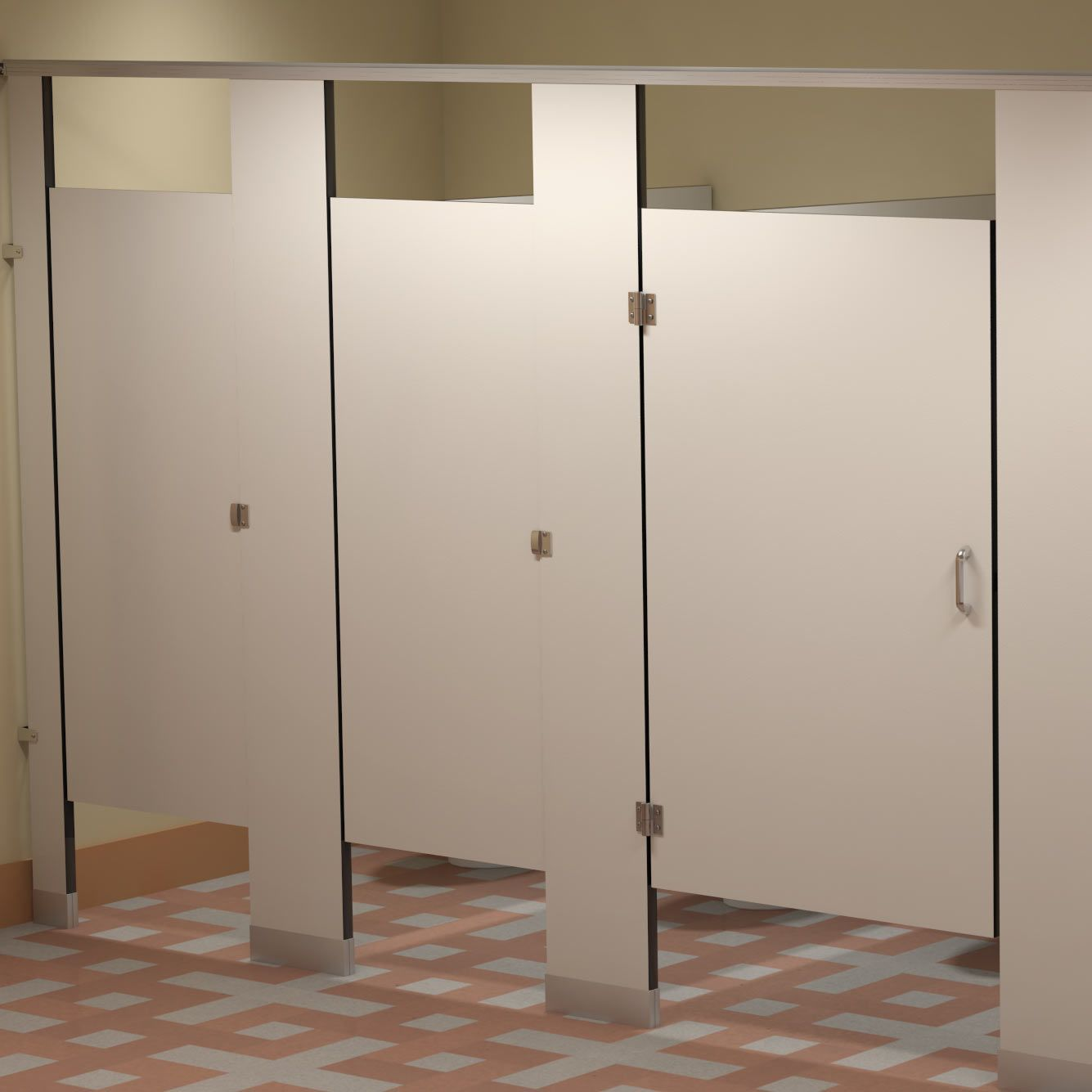 plastic & phenolic partitions cubicles | toilet partitions
