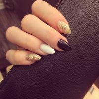 Short stiletto nails =]   Nails   Pinterest   Short ...