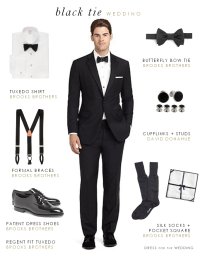 What to Wear to a Formal Black Tie Wedding | Black tie ...
