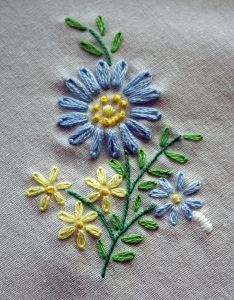 Simple Embroidery Designs Of Flowers Valoblogi Com