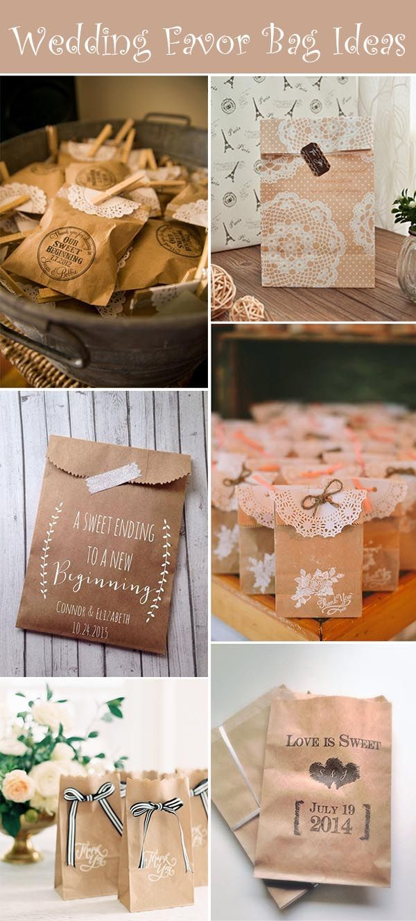 Fall Wedding Souvenirs