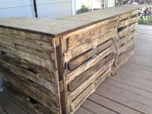 Diy Pallet Bar Ideas And Projects Pallets Tiki Bars