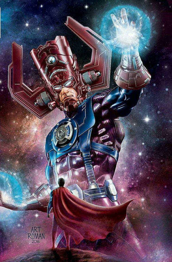 #superman #galactus Marvel Comics