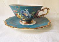 German Antique Tea Cups Saucers | Vintage German Tea Cup ...