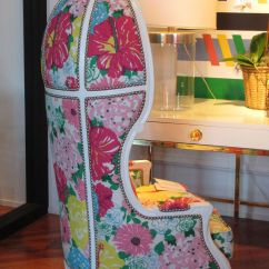 Lilly Pulitzer Chair Chairs For Fire Pit Versailles With Print All Of The Pelican