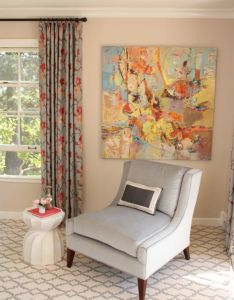 Guest bedroom sitting area peninsula decorator show house also rh pinterest