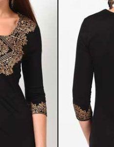 Ladies kurti neck designs for salwar suit churidar design also balck blouse pinterest and suits rh