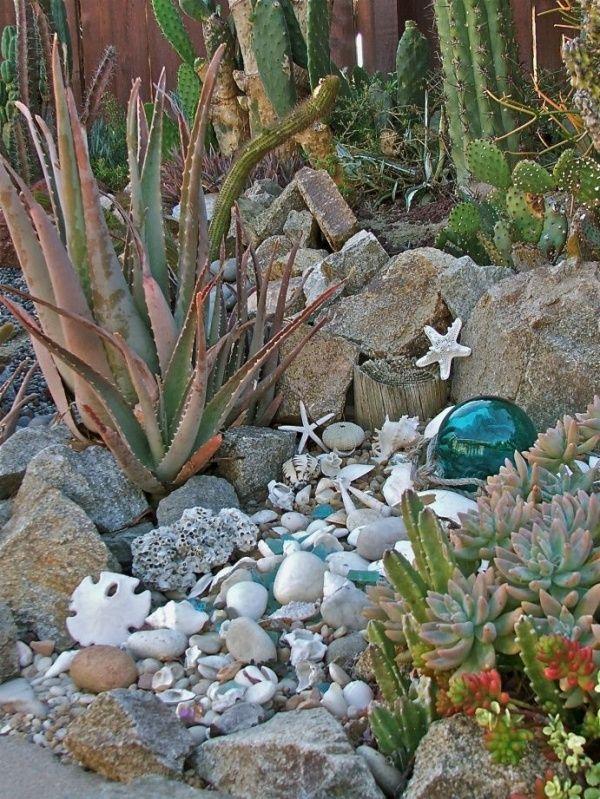 Dreamy Beach Themed Garden Decor Ideas 2 Gardenoholic Caravan