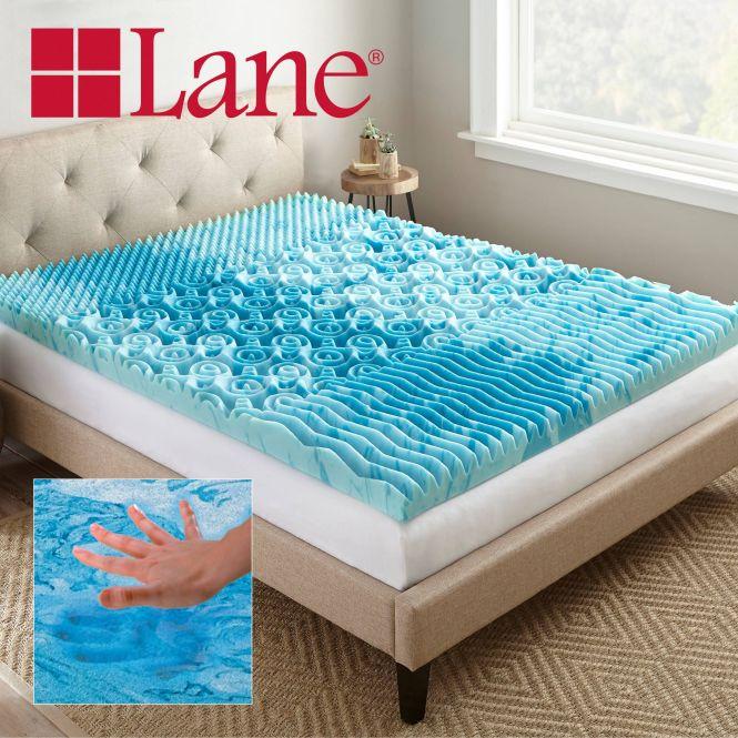 Lane 3 Cooling Gellux Memory Foam Gel Mattress Topper Multiple Sizes Review
