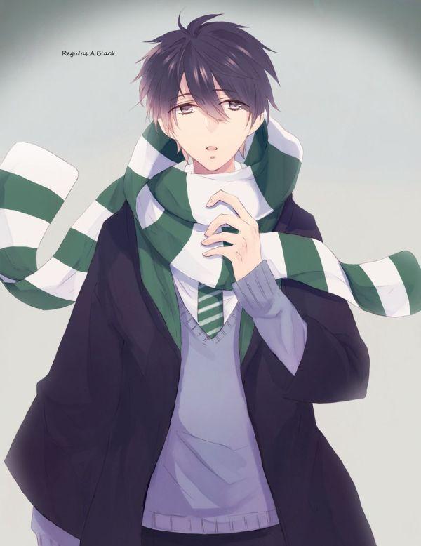 Tags Fanart Harry Potter Pixiv Regulus Black Slytherin House Yunohara