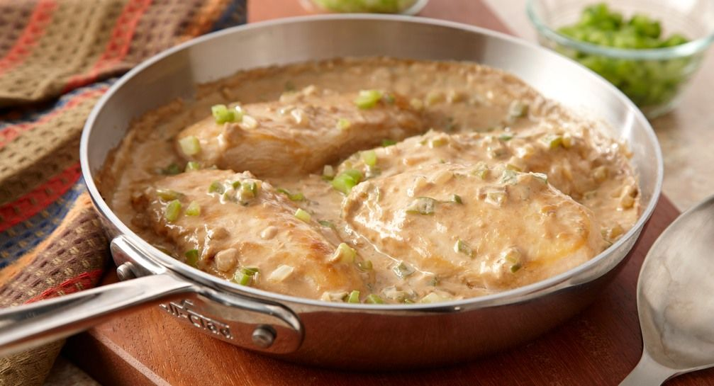 Chicken Smothered Gravy And Biscuits
