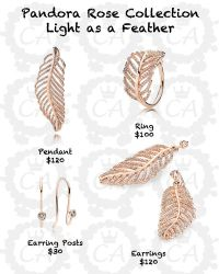 pandora-rose-collection-light-as-a-feather | I WANT THAT ...