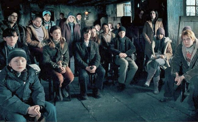 Recruiting Dumbledore S Army Harry Potter And The Order