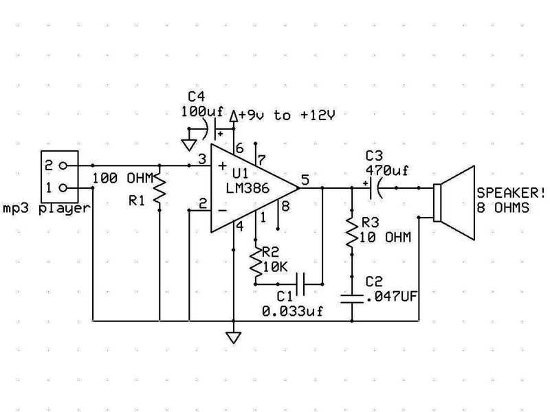 Image result for media player speaker circuit