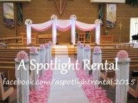 crystal columns, ceremony columns, wedding columns, aisle ...