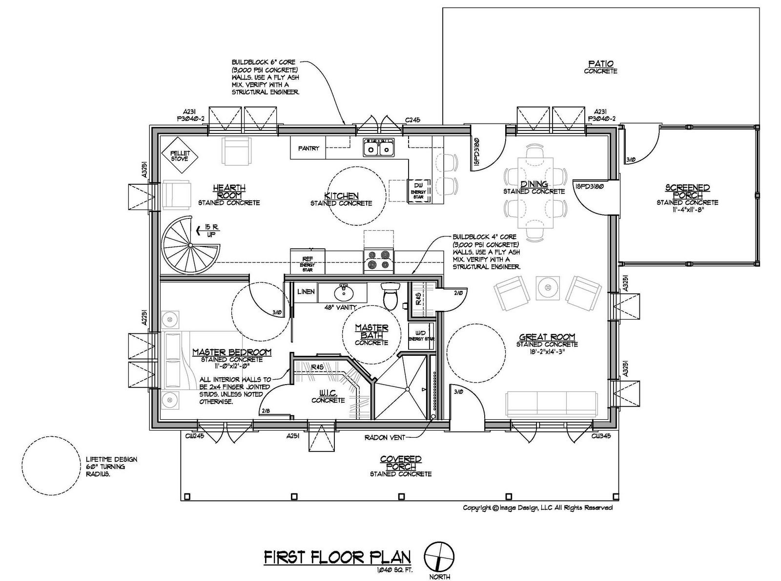 Simple House Plans In Autocad