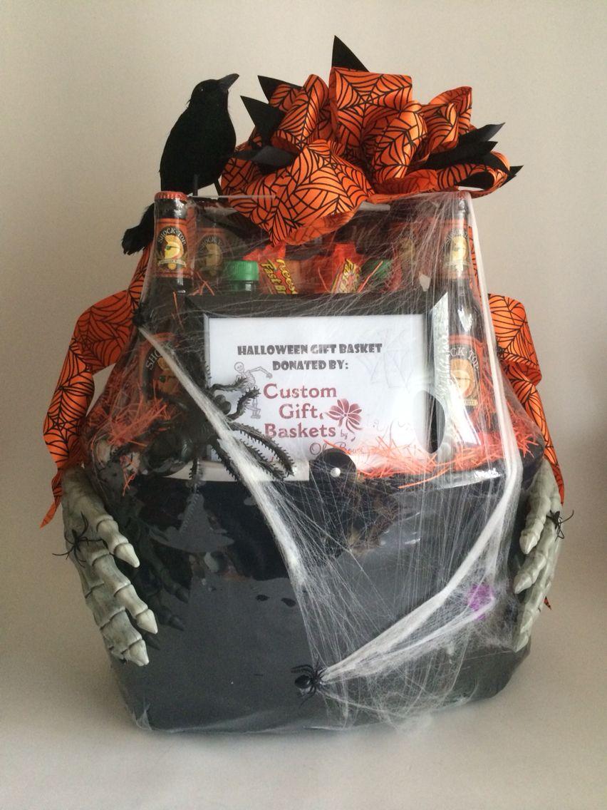 A frightfully handsome halloween gift basket www