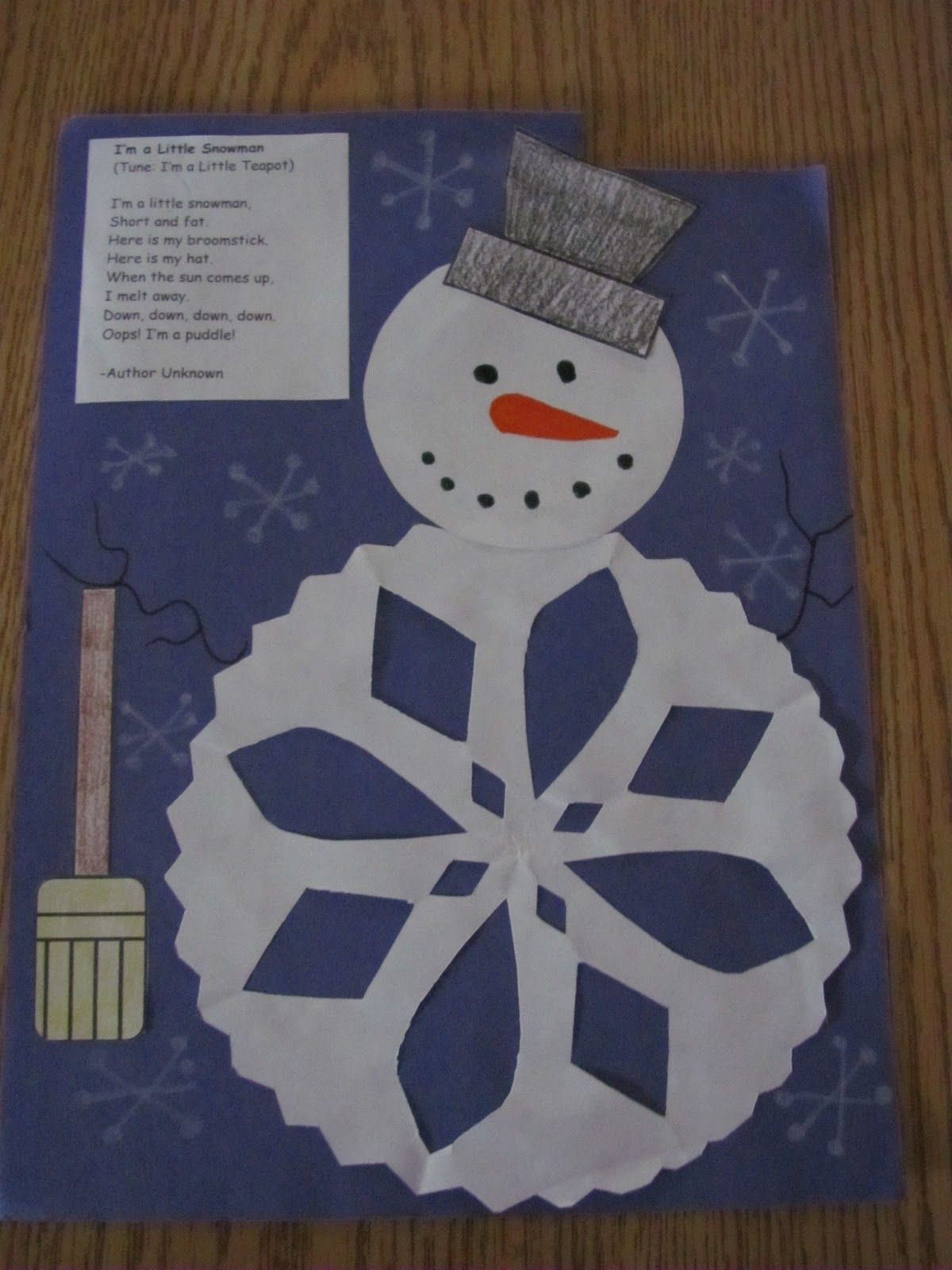 Cute Project Ybe Having The 3rd Graders Write Their Own Winter Poem