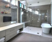 COMBO TUB/SHOWER WET ROOM | Bathrooms | Pinterest | Wet ...
