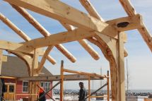 Timber Frame Construction Building Traditional
