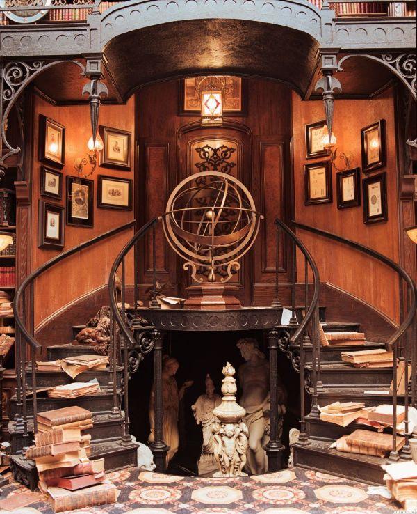 Steampunk Interior Design Mansion
