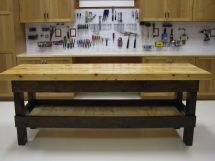 Custom Garage Work Benches