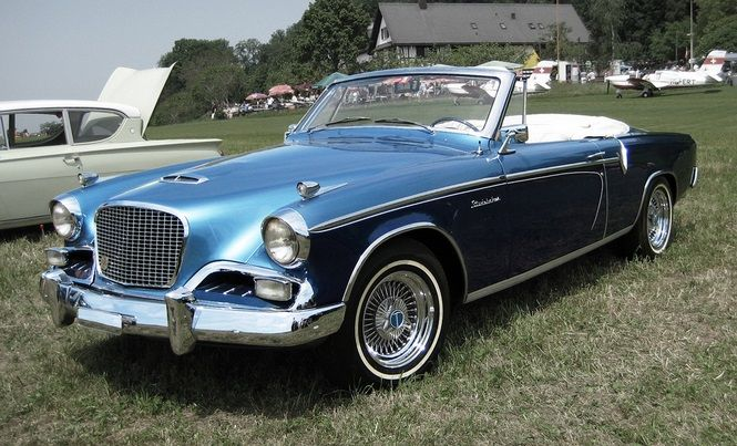 Convertible Hawk Golden Studebaker 1956