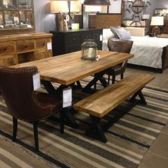 Ashley Furniture Kitchen Tables Outdoor Bbq Kits Urbanology Modern Rustic Pinterest