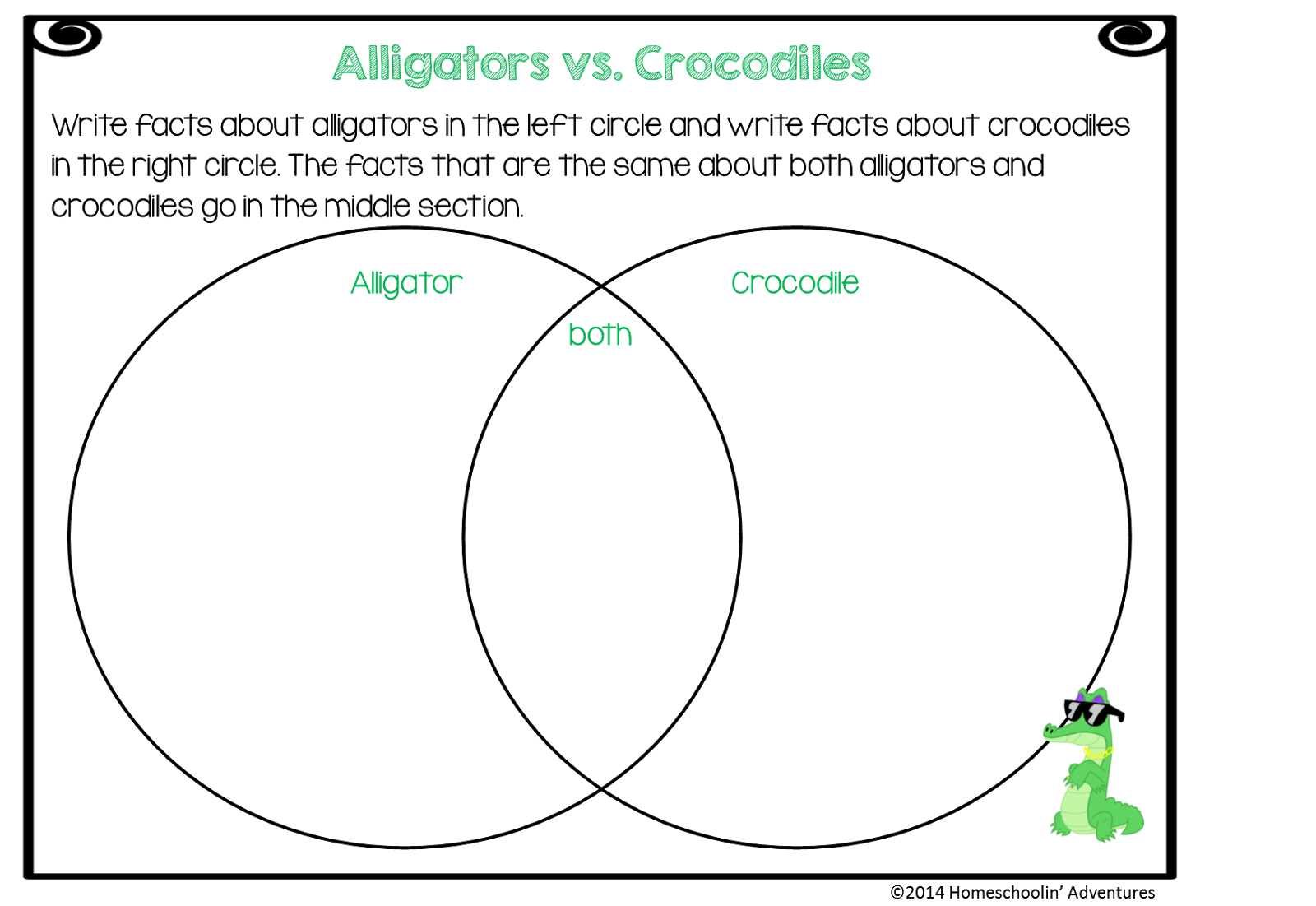 venn diagram of reptiles and amphibians rj45 jack wiring homeschoolin 39 adventures unit study freebie