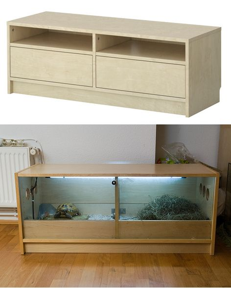Ikea Hack Benno TV stand turned into Turtle House  IKEA