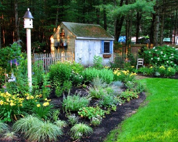 Minimalist Patio Cottage Garden Decorating How To Create Cottage