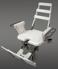 Fighting Chairs with straight up backrest tuckaway ...