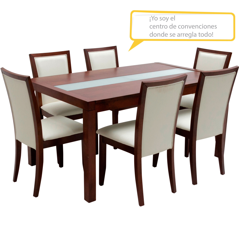 Juego de Comedor  SUZANNA_RHI  Madera  Dining chairs