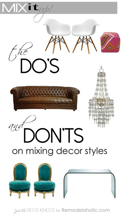 Mix It Up The Dos and Donts of Mixing Decor Styles